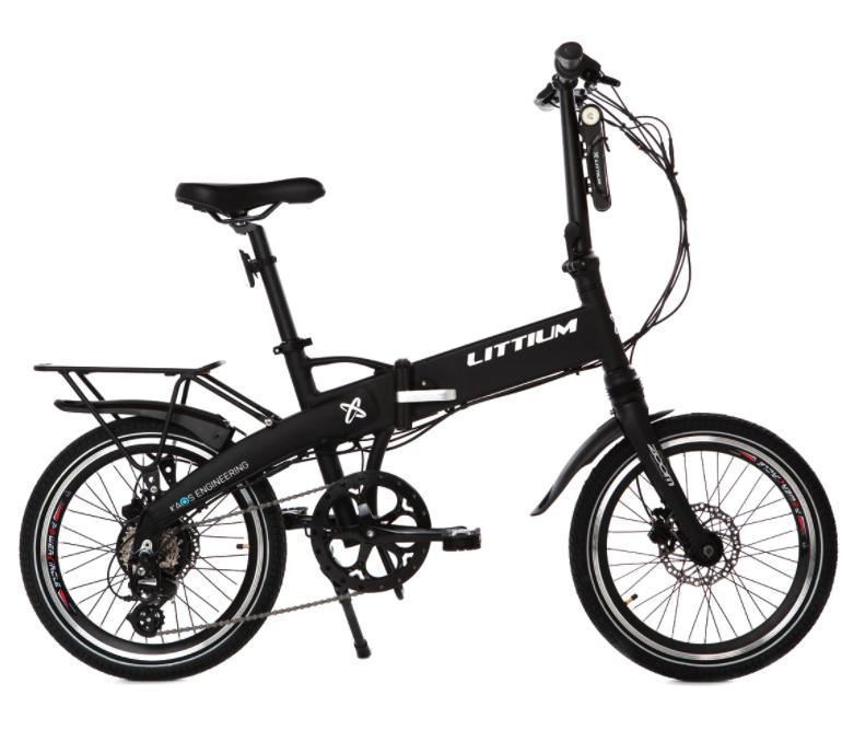 Bicicleta eléctrica plegable Ibiza Dogma Littium