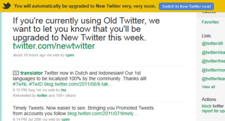 El viejo Twitter está a punto de desaparecer