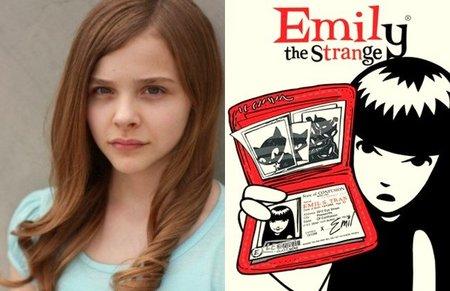 Chloë Moretz es Emily the Strange