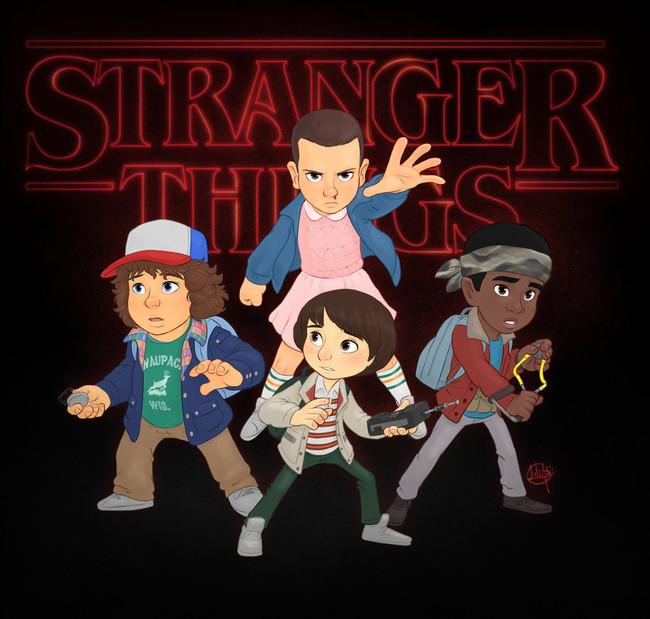 Stranger Things By Luigil Dafw2ak