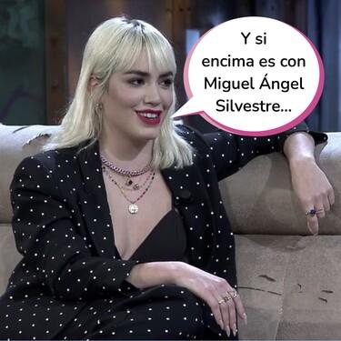 Lali Espósito revela en 'La Resistencia' el pastizal que tiene en el banco y la envidiable vida sexual que lleva
