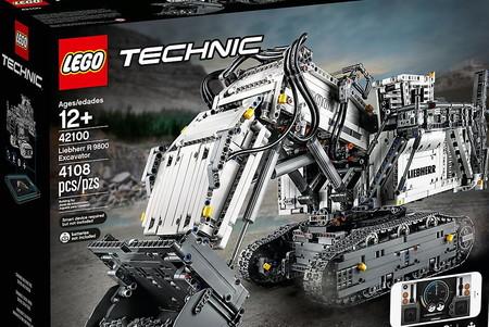 Esta excavadora de LEGO tiene 4108 piezas, se controla desde el móvil y es uno de sus sets más complejos hasta la fecha