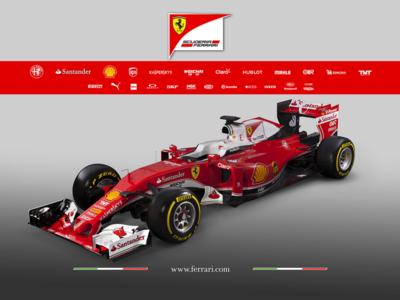 Ferrari SF16H, el rebelde que buscará derrocar a Mercedes