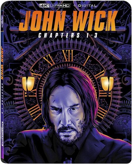 Paquete de películas de John Wick con Keanu Reeves en 4K de oferta en Amazon México