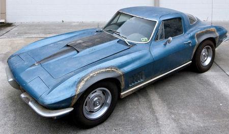 El Corvette de Neil Armstrong no va a ser restaurado. Sólo se conservará