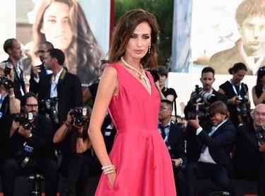 Nieves Álvarez de Alberta Ferretti para deslumbrar y ser la primera española en esta edición del Festival de Venecia