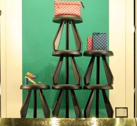 Charlotte Perriand inspira los escaparates de Louis Vuitton