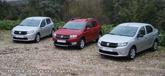 Gama Dacia Logan y Sandero (2013)