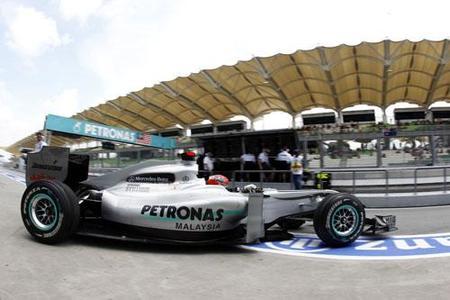 Mercedes GP presentará en el Gran Premio de España mejoras en su MGP W01