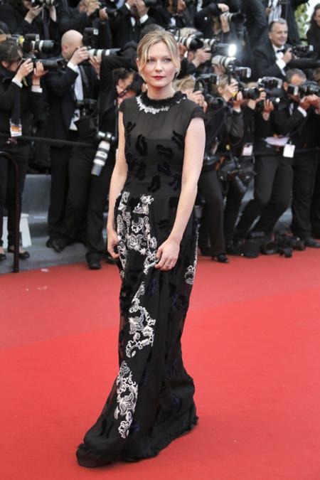 Kirsten Dunst cannes 2013 look