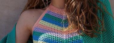 El crochet amenaza con invadirlo todo y Stradivarius nos lo demuestra de nuevo con estilo (y mucho color)