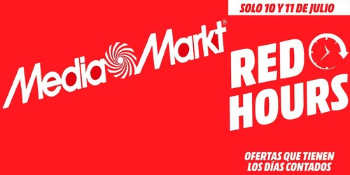 """Red Hours: las mejores ofertas en el """"Prime Day"""" de Mediamarkt"""