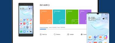 Huawei HiSuite a fondo: todo lo que puedes hacer con la app para gestionar móviles Huawei desde Windows y Mac