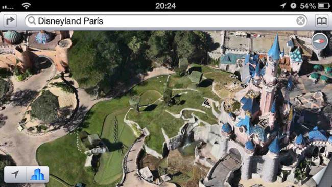 Flyover Paris, Disneyland Paris en 3D