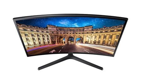 Samsung LC24F396: monitor curvo de 24 pulgadas, con resolución Full HD, por sólo 129 euros en la Red Night de Mediamarkt