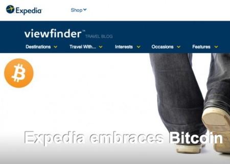 Expedia, uno de los mayores portales de viajes, comienza a aceptar pagos en Bitcoin