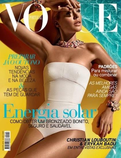 En Vogue Portugal apuestan por un moreno de lo más dorado, ¿creíble?