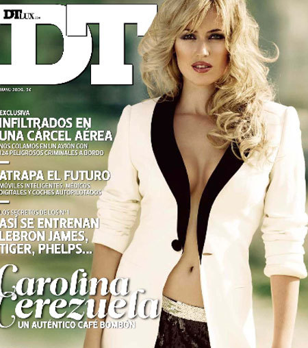 Carolina Cerezuela en la revista DT