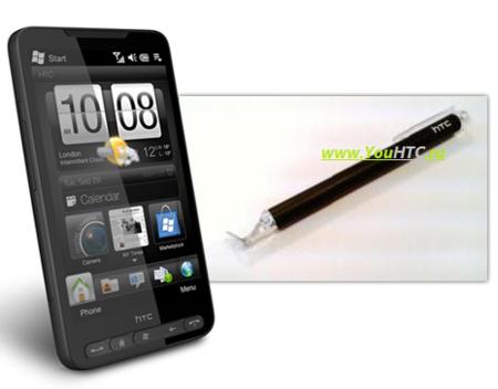 Un puntero para la pantalla capacitiva del HTC HD2, pronto