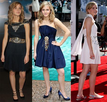 Emma Watson apuesta por los mini vestidos de Chanel