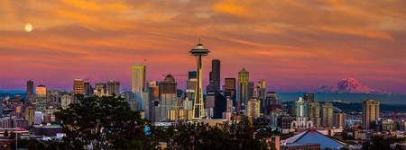 Seattle dorado Superluna