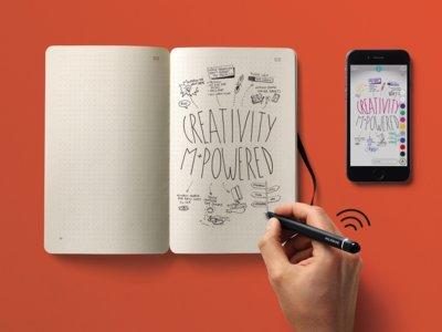 Digitalizar lo que escribimos en tiempo real es la promesa del nuevo kit de Moleskine