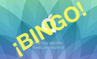 Las palomitas no son suficientes: prepárate para la keynote con nuestro Bingo