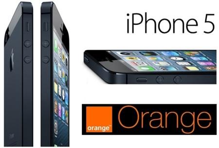 Precios iPhone 5 con Orange según la tarifa elegida
