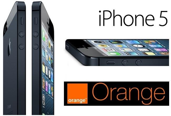 Precios iPhone 5 con Orange España