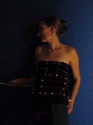 Camisetas con LEDs
