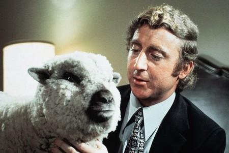 Gene Wilder y la oveja Daisy