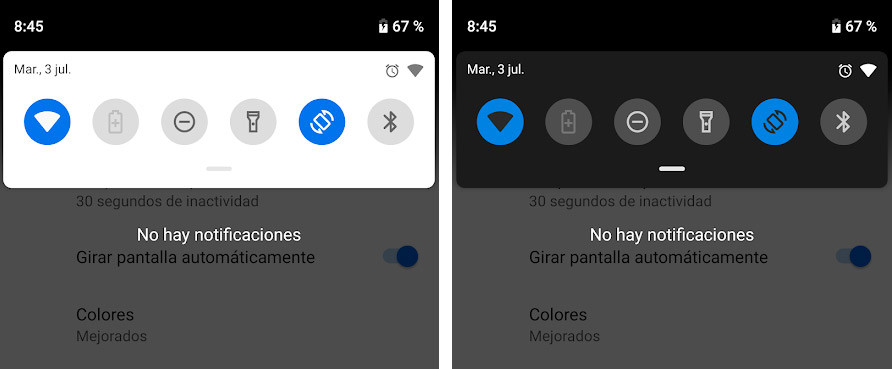 Android P Beta tres
