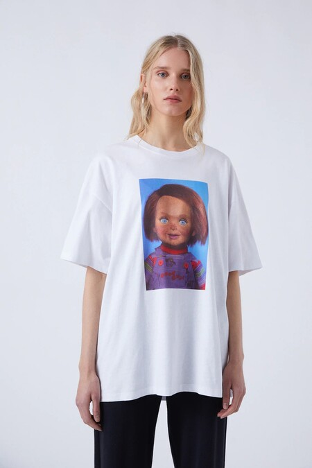 Pull Bear Halloween 2020 Camiseta 03