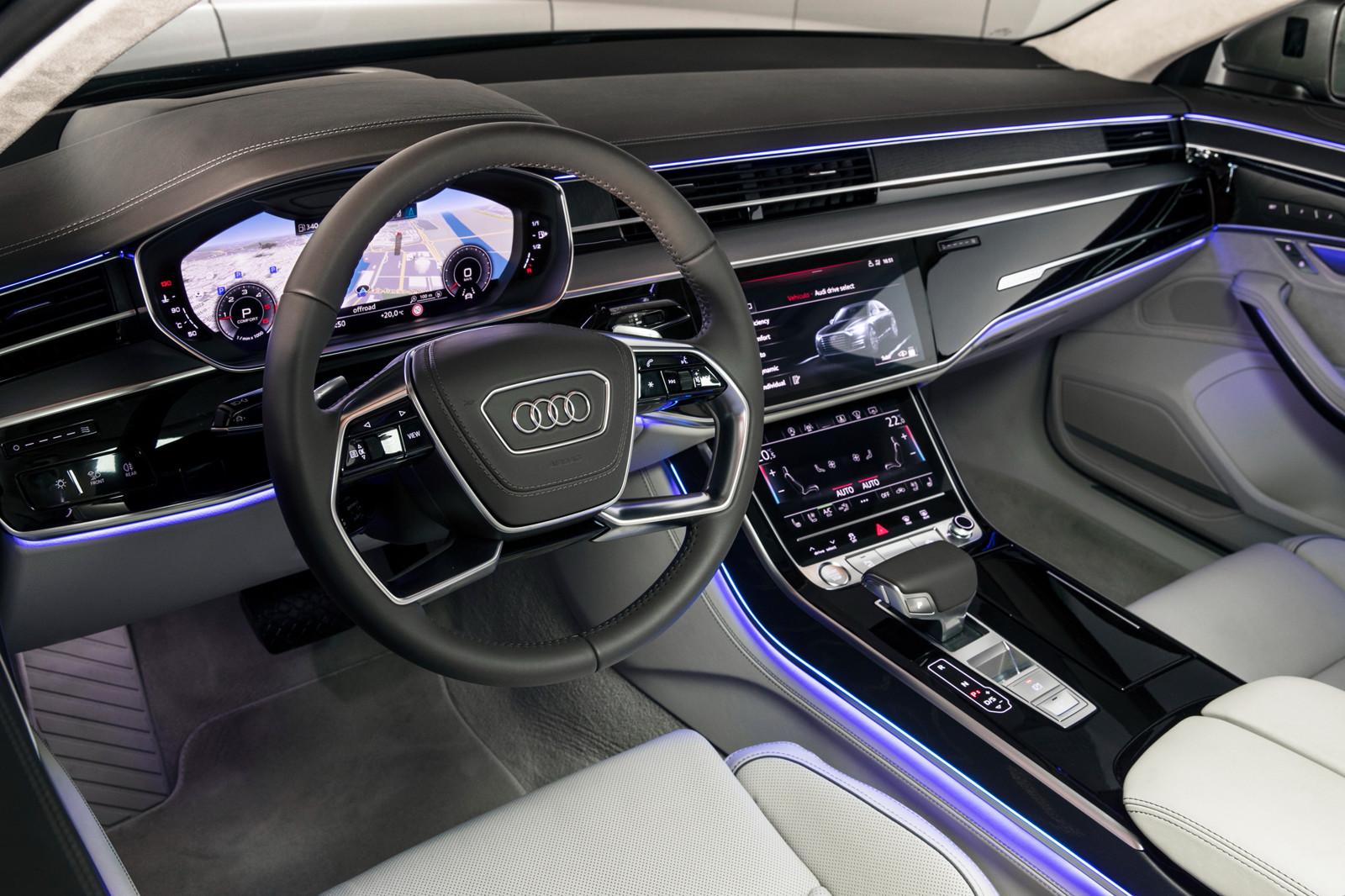 Foto de Audi A8 2018 (presentación) (60/81)