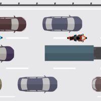 Francia experimenta con el filtrado entre coches