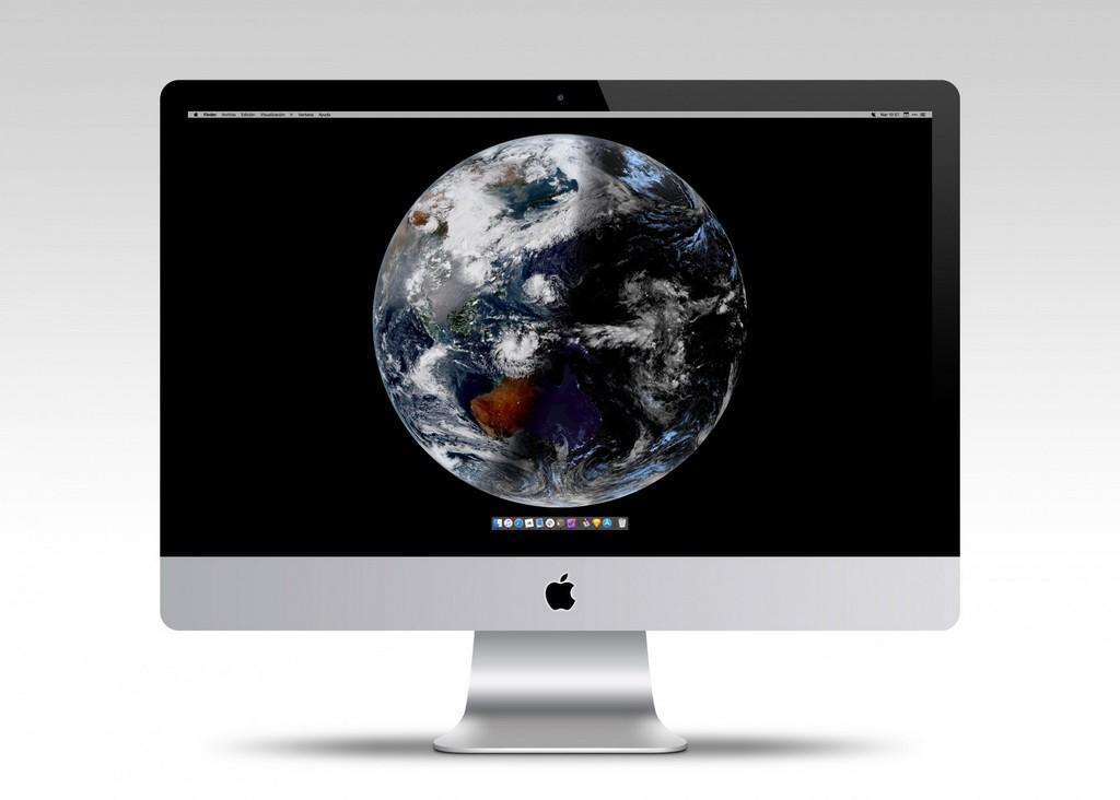 Esta apps gratuita presenta como fondo de monitor imágenes de la Tierra desde el espacio actualizadas en período real
