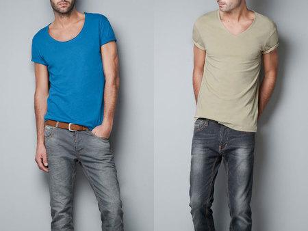 Camisetas básicas de Zara