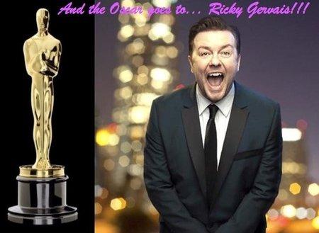 Ricky Gervais, el presentador justiciero ataca de nuevo