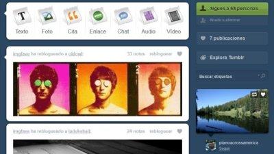 Tumblr ya está disponible en español