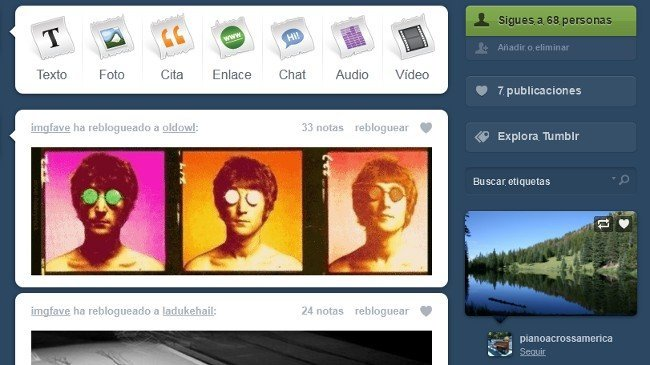 Tumblr ya está disponible en español