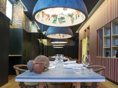Toques manchegos en la deco del nuevo restaurante Adunia Manolo de la Osa