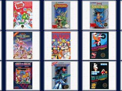 Aquí están los manuales de instrucciones de todos los juegos de la Mini NES