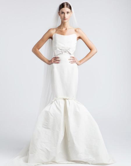 Lanvin corte sirena novia