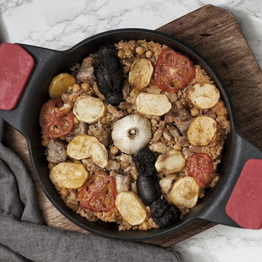 Arroz al horno: receta tradicional para disfrutar en familia