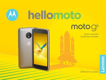 Moto G5, la quinta generación del Motorola más emblemático ya está aquí