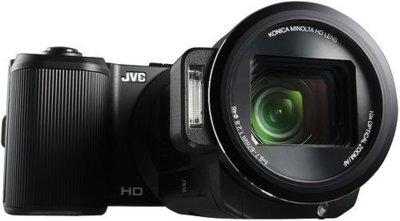 JVC PX10, diseño diferente para una cámara híbrida