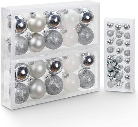 Bolas De Navidad De Cristal