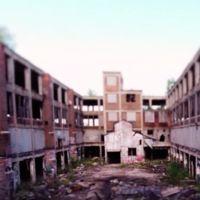 La bella decadencia de Detroit a vista de drone en timelapse