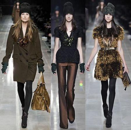 Burberry Prorsum en la Semana de la Moda de Milán otoño/invierno 2008/2009