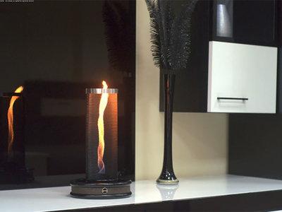 Flameflex ilumina tu salón con una curiosa llama en forma de tornado